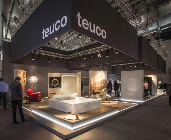 Allestimenti Bologna e Teuco all' ISH in Francoforte tecnica ed estetica per una comunicazione vincente