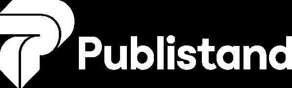 Publistand, allestimenti fieristici e stand a Bologna | Logo bianco