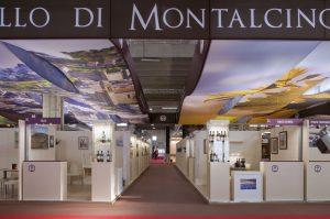 Publistand, allestimenti fieristici e stand a Bologna | Cliente Brunello di Montalcino 1