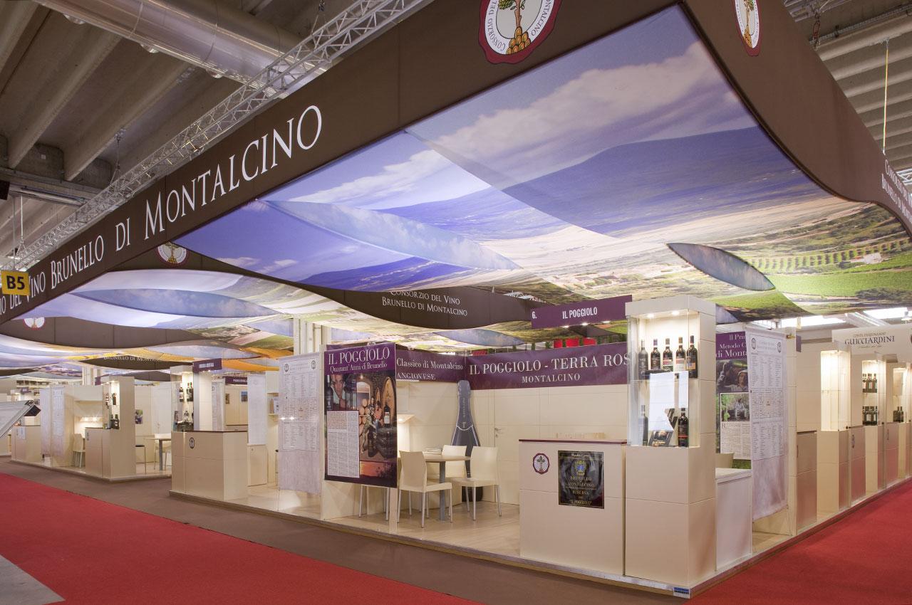 Publistand, allestimenti fieristici e stand a Bologna | Cliente Brunello di Montalcino 6