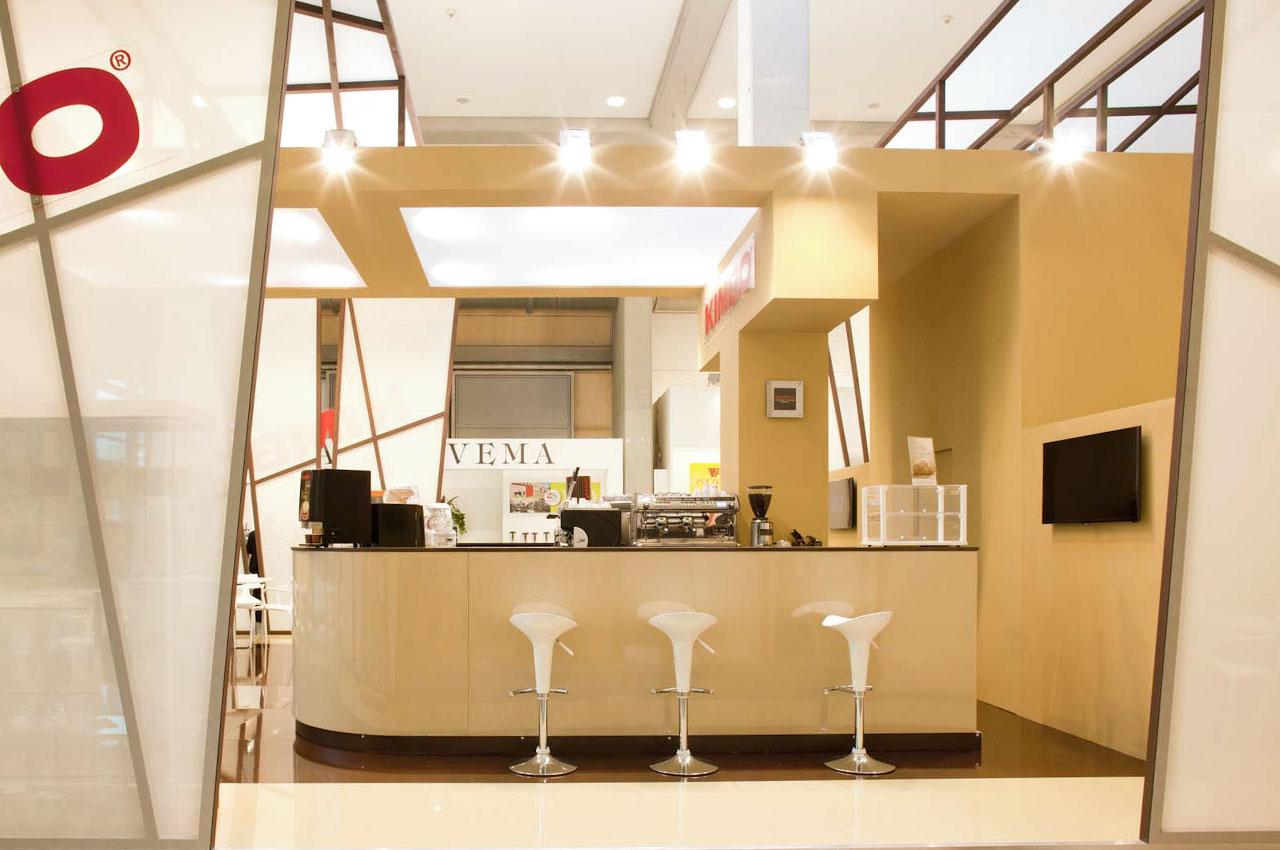 Publistand, allestimenti fieristici e stand a Bologna | Cliente Kimbo 1