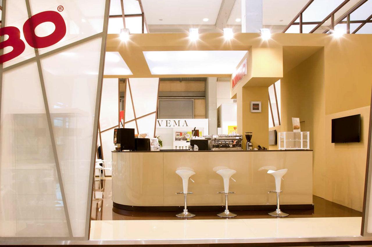 Publistand, allestimenti fieristici e stand a Bologna | Cliente Kimbo 2