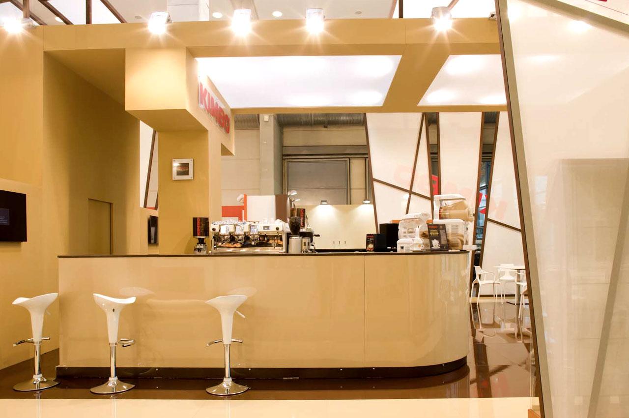 Publistand, allestimenti fieristici e stand a Bologna | Cliente Kimbo 5