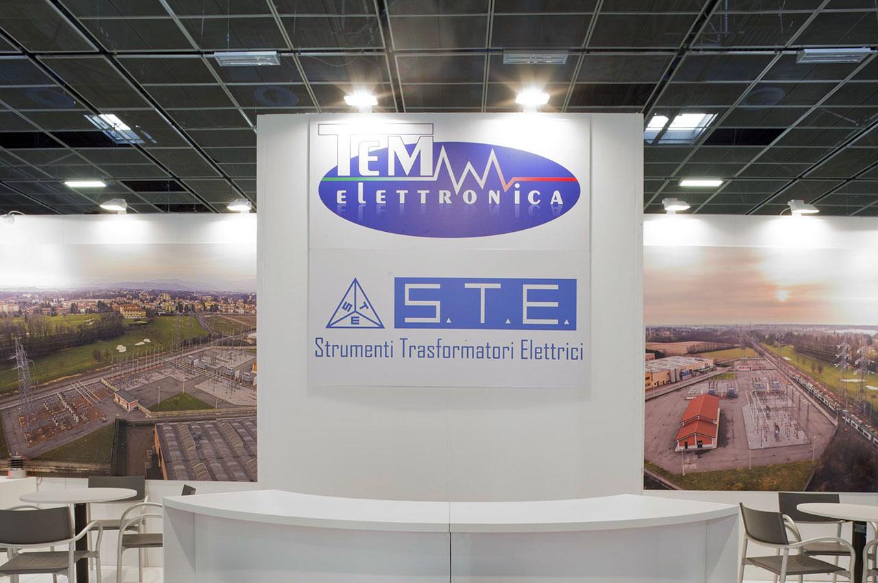 Publistand, allestimenti fieristici e stand a Bologna | Cliente TEM Elettronica 3